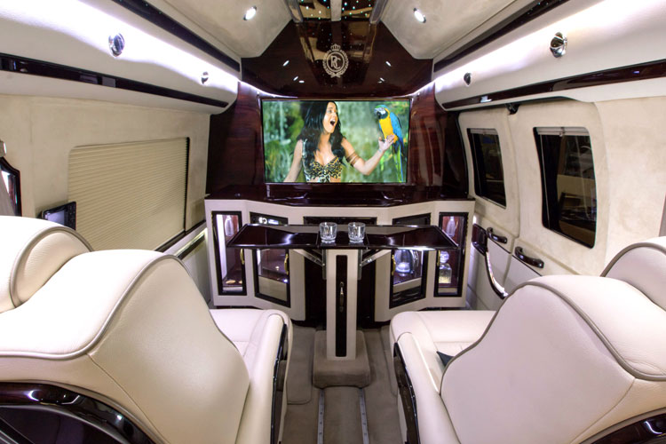 Luxury Van Conversion To Bring Your Whole Family Or Conduct Business PMC Is Vehicle All Of The Quality And Comforts A Private Jet